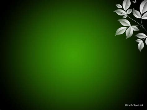 free powerpoint christian sermon background green
