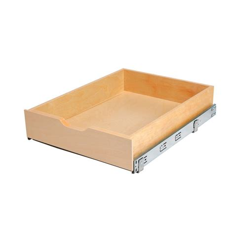 wood cabinet drawer boxes real solutions for real life 5 in h x 18 in w x 22 in d