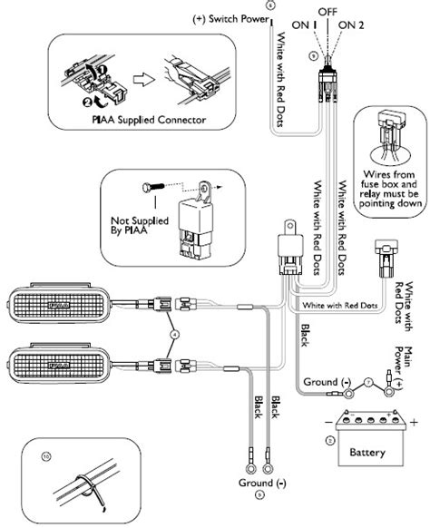 piaa 520 wiring harness piaa bulb solar yellow wiring