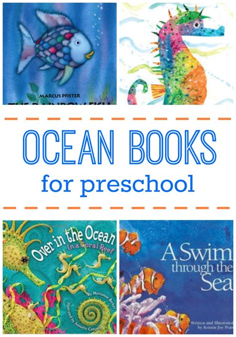 story book themes for preschool ocean picture books for preschoolers