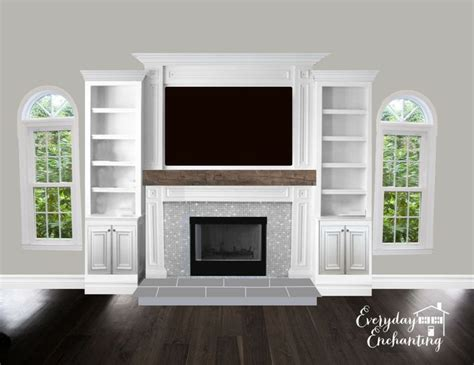 tv over fireplace and media storage great room 468 best images about fireplaces built ins on pinterest