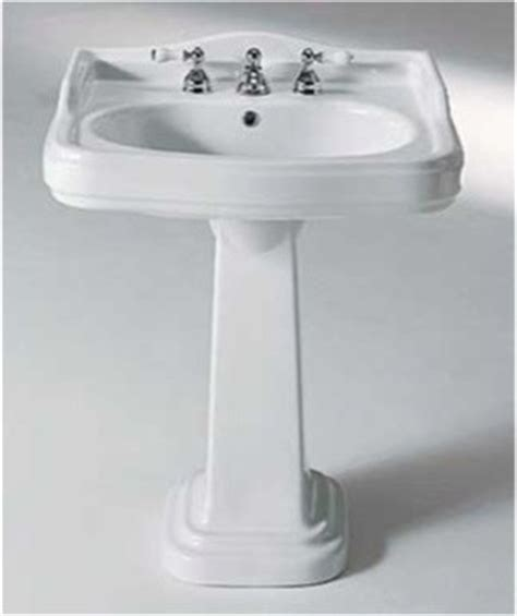 classic bathroom sink classic style curved rectangular ceramic pedestal sink by