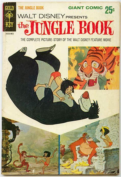 libro walt disneys the jungle walt disney presents the jungle book 1967 1968 comic book comics leer