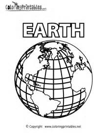 planet earth coloring page a free science coloring