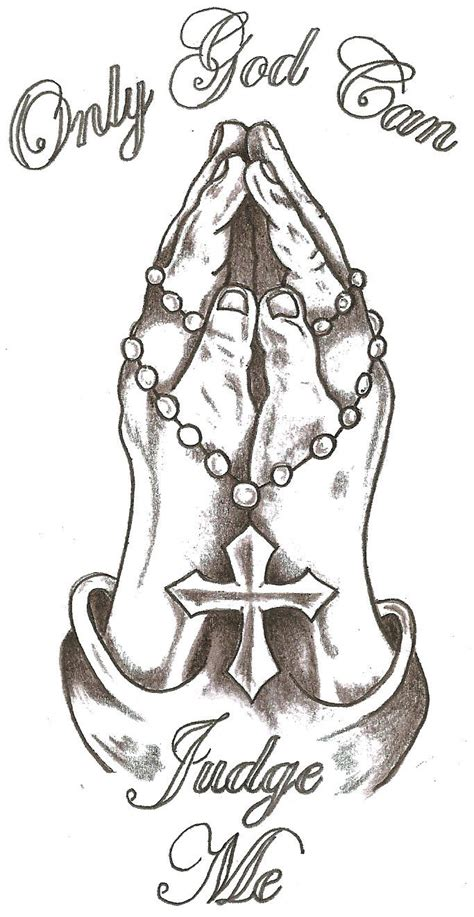 Praying Drawing