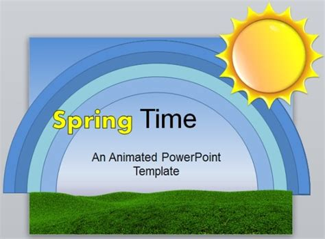 spring powerpoint template spring powerpoint template