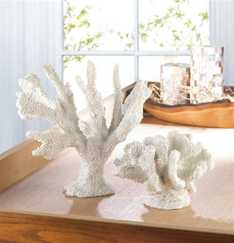 home decor coral white coral decor wholesale at koehler home decor
