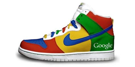 google themes nike blank for now nike sneakers customized with google