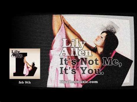 0007524986 it s not me it s you lily allen womanizer doovi