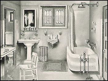1920s bathroom decor a scrapbook of me the history of personal hygiene