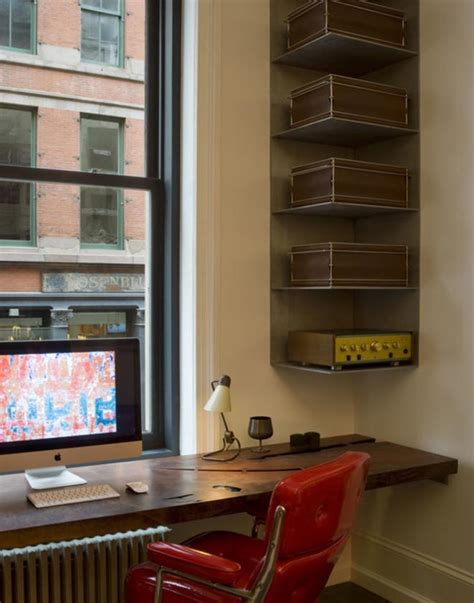 Desk Corner Shelf Clever Ways In Which A Corner Bookshelf Can Fill In The Blanks In Your Design