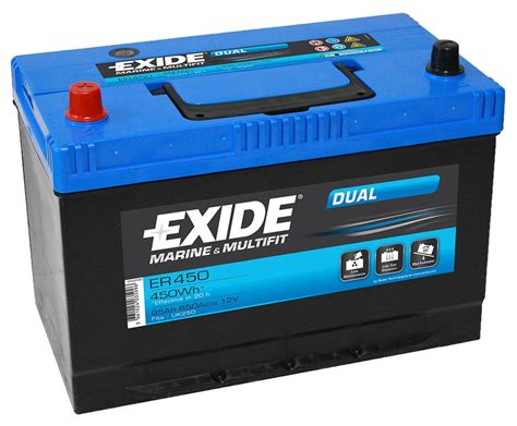 dual marine battery charger exide er450 dual marine battery leisure batteries