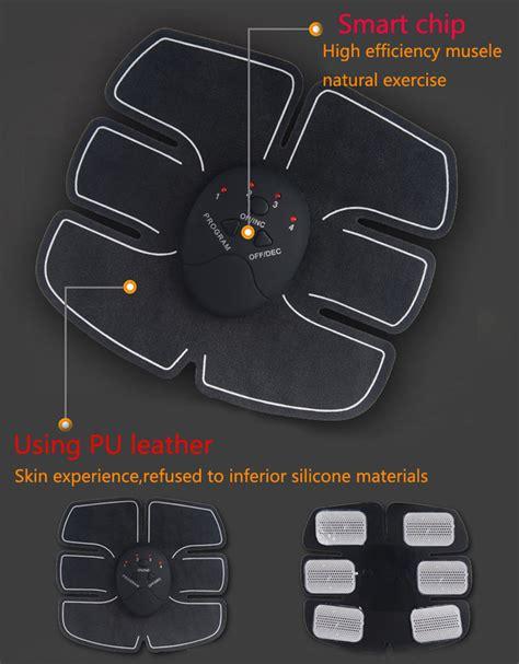 Alat Ems Fitness Alat Stimulator Terapi Ems Otot Six Pack Abs Abdominal