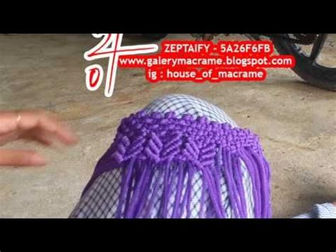 Tas Bag Termurah Motif Kaki tutorial tas tali kur membuat motif butterfly atau kupu kupu by zeptaifyx noduri macrame