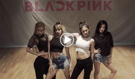 blackpink practice video blackpink whistle dance practice ver kpopmap