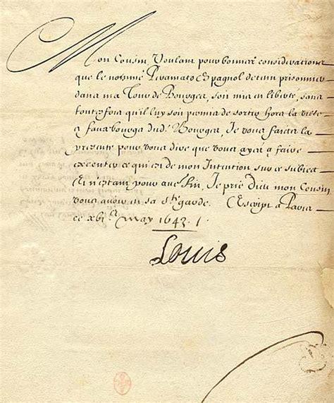 Lettre De Cachet De Louis Xiv Louis Xiv Une Lettre And Chagne On