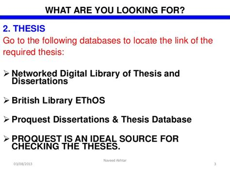 search for dissertations proquest dissertation search by harris jr