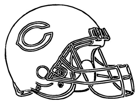 Nfl Bears Coloring Pages | nfl shoes coloring coloring pages