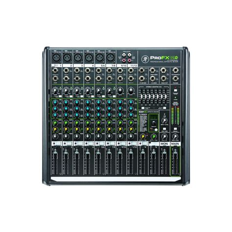Mixer Mackie Profx12 mackie profx12 v2 12 channel professional dj sound effects