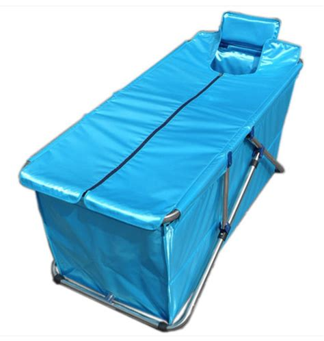 foldable bathtub for adults size130 56 52cm simple folding bathtub inflatable tub