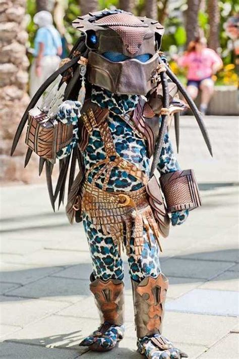best predator costume and william miyamoto created predator costume for
