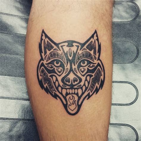 wolf head tattoo design 43 tribal designs ideas design trends premium