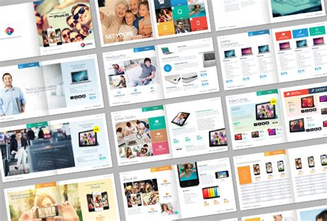 Tempey Digital Product Catalog Template On Behance Digital Catalog Template