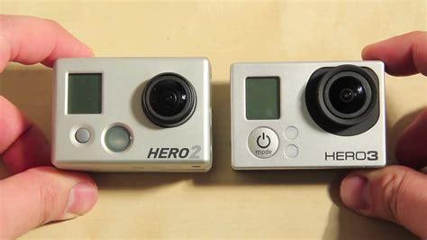 format video gopro hero 2 vergleich gopro hd hero 3 black edition mit der gopro hd