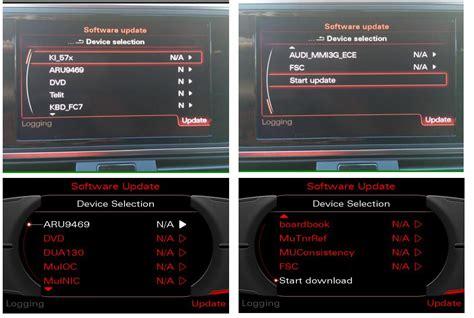 Audi Mmi Update by How To Update Audi Mmi 3g Firmware Auto Repair Technician