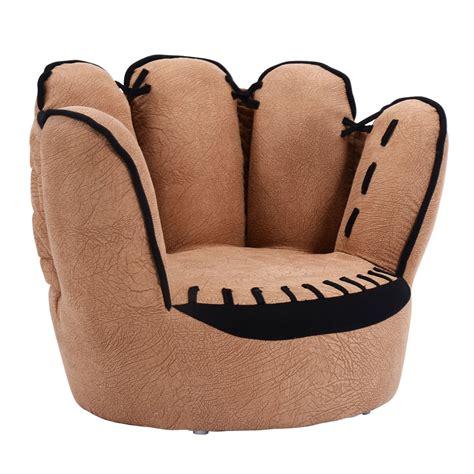 couch baseball kids sofa baseball golves armrest chair couch children