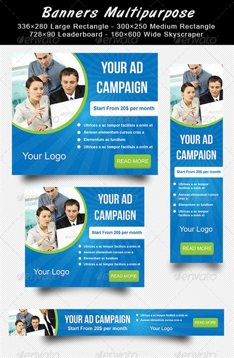 Banners Multipurpose Graphicriver Website Advertisement Template