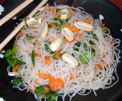 rice noodle salad rice noodle salad recipe food com
