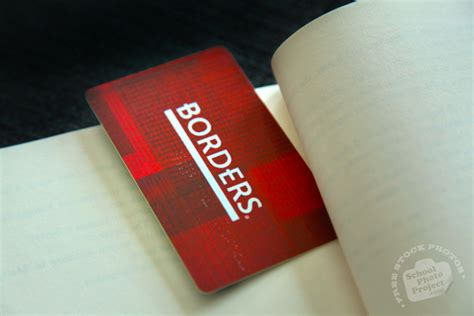 Borders Waldenbooks Gift Card - borders logo free stock photo image picture borders logo on gift card royalty