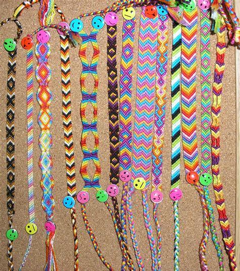 Bracelet Zipper Galleries: Friendship Bracelet Directions