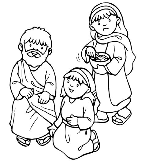 coloring pages jesus and martha 25 unique and martha bible ideas on
