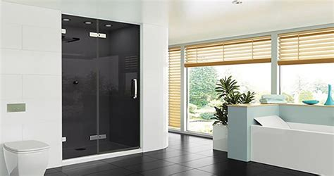 smoked glass shower doors merlyn showering ou le italienne 224 l irlandaise