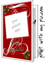 free printable christmas cards add photo christmas cards to print add your own photo printable