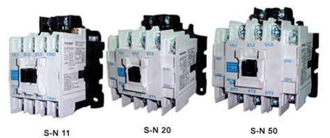 Contactor S Kr11 Mitsubishi magnetic contactors and magnetic motor starter