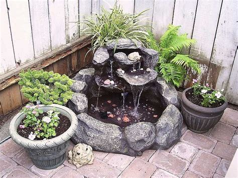 backyard fountains lowes lowes outdoor water fountains for corner backyard garden