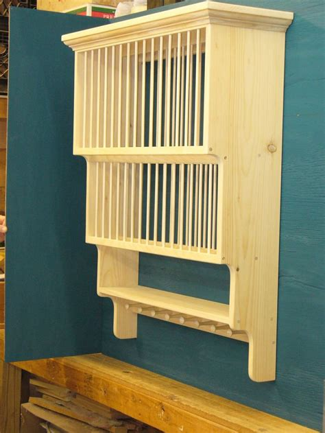 Plate Rack Paint White And Install Instead Of That Lone Kitchen Cabinet Plate Organizers