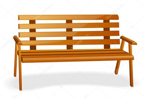 bench clipart park bench stock vector 169 filata nata 5988981
