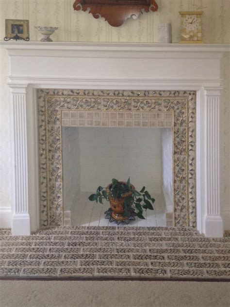 Ceramic Tile For Fireplace Surround by 17 Best Images About Fireplace Surrounds On