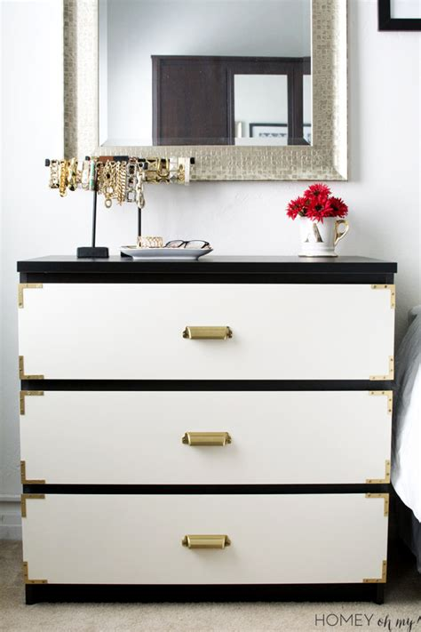 malm hack caign style dresser ikea malm makeover homey oh my