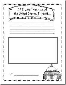 Writing activity for president s day