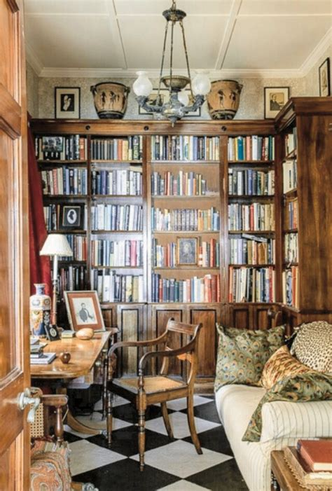 best 25 cozy home library ideas on library in