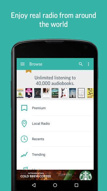 tunein radio apk free pobierz tunein radio apk na androida za darmo 187 sklep play android boom pl