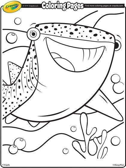 coloring page whale shark destiny the whale shark adult coloring pinterest