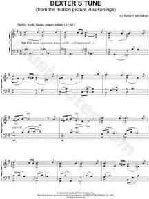 theme music dexter randy newman quot dexter s tune quot sheet music piano solo in g