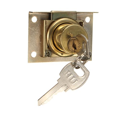 drawer lock kit with 2 keys cabinet cupboard door home