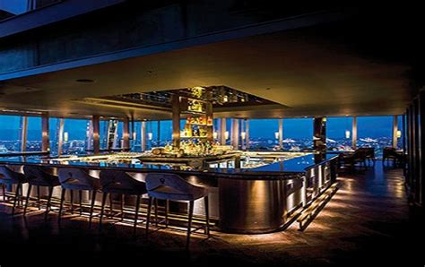 bar at the top of the shard contemporary restaurant venue for functions and private